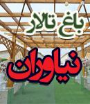 باغ و تالار نیاوران در شیراز