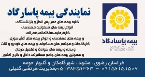 نمایندگی بیمه پاسارگاد مرتضی کمیلی در مشهد