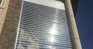 تیغه کرکره برقی اتوماتیک پلی کربنات شفاف