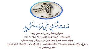 خدمات شنوایی سنجی فرزاد دانش پایه در یاسوج
