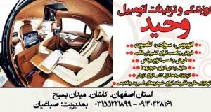 دوزندگی و تزئینات اتومبیل وحید در کاشان