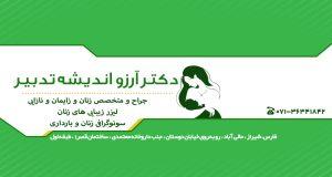 دکتر آرزو اندیشه تدبیر در شیراز