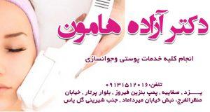 دکتر آزاده هامون در یزد