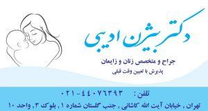 دکتر بیژن ادیبی در تهران