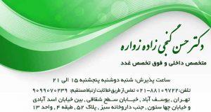 دکتر حسن گنجی زاده زواره در تهران
