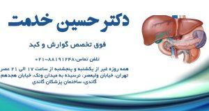 دکتر حسین خدمت فوق تخصص گوارش و کبد در تهران