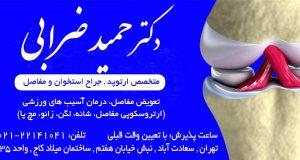 دکتر حمید ضرابی در تهران
