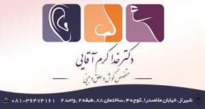 دکتر خدا کرم آقایی در شیراز