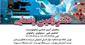 دکتر رامین یغمایی در تهران