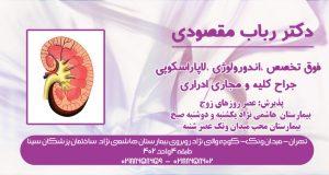 دکتر رباب مقصودی در تهران