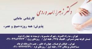دکتر زهرا الله وردی در تهران