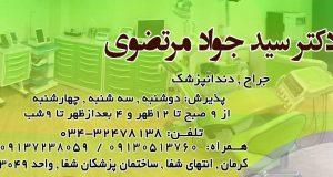 دکتر سید جواد مرتضوی در کرمان