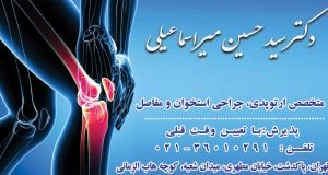 دکتر سید حسین میراسماعیلی در تهران