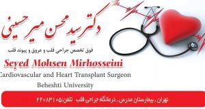 دکتر سید محسن میرحسینی در تهران