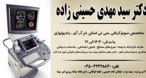 دکتر سید مهدی حسینی زاده در یزد