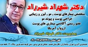 دکتر شهزاد شیرزاد در تهران