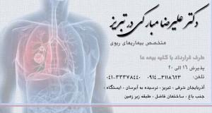 دکتر علیرضا مبارکی در تبریز