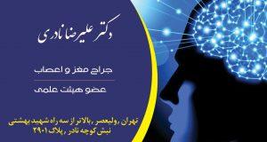 دکتر علیرضا نادری در تهران