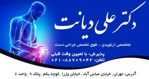 دکتر علی دیانت در تهران