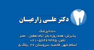 دکتر علی زارعیان در اسلام شهر