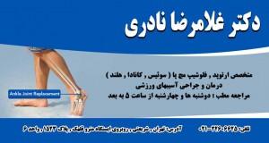 دکتر غلامرضا نادری در تهران