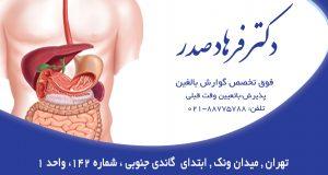 دکتر فرهاد صدر در تهران