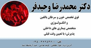 دکتر محمدرضا وحیدفر در یزد