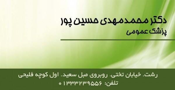 دکتر محمدمهدی حسین پور