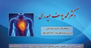 دکتر محمد یوسف حیدری در تهران