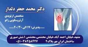 محمد جعفر دلدار در مشهد