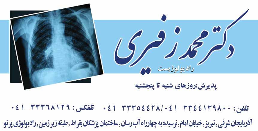 دکتر محمد زسیری در تبریز