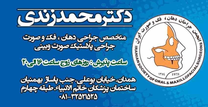 دکتر محمد زندی در همدان