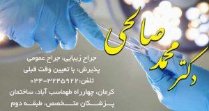 دکتر محمد صالحی در کرمان