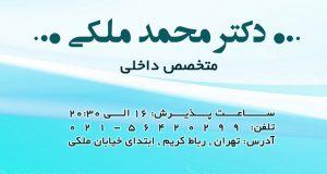 دکتر محمد ملکی در تهران