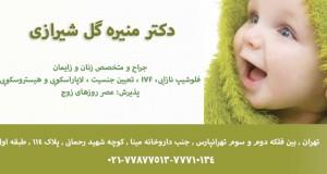 دکتر منیره گل شیرازی در تهران