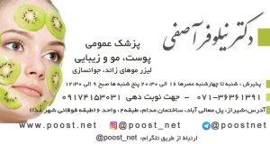 دکتر نیلوفر آصفی در شیراز