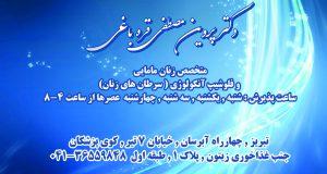 دکتر پروین مصطفی قره باغی در تبریز