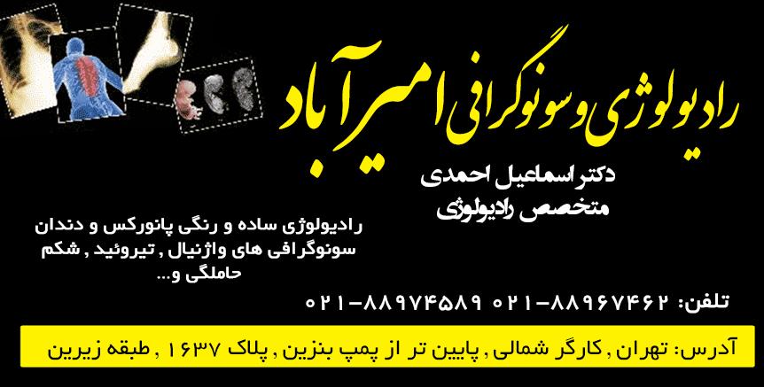 دکتر اسماعیل احمدی در تهران