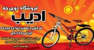 فروشگاه دوچرخه ادیب در رویان
