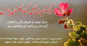 مرکز تولیدی گل و گیاه گلستان پارمیس در مرکزی