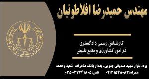 کارشناس رسمی دادگستری افلاطونیان در یزد