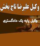وکیل علیرضا تاج بخش حقیقی در شیراز