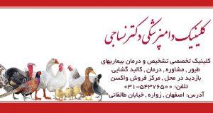 کلینیک دامپزشکی دکتر نساجی در اصفهان