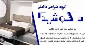 گروه طراحی داخلی دکوشیک در همدان