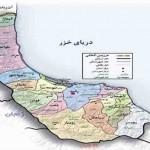 نقشه گیلان