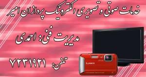 خدمات صوتی و تصویری الکترونیک پردازان امیر