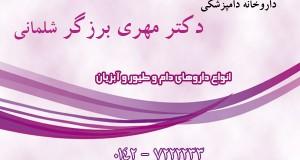 داروخانه دامپزشکی دکتر مهری برزگر شلمانی