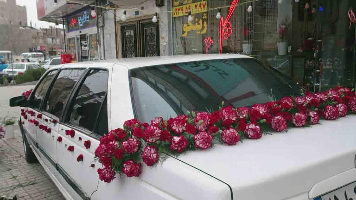 گل فروشی ژینکو در مشهد1