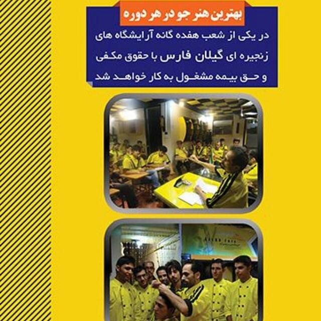 آموزشگاه و آرایشگاههای زنجیره ای گیلان فارس2