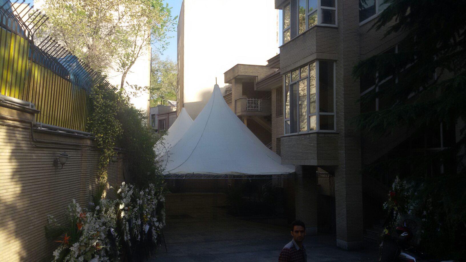 تشریفات قصر سفید در تهران2